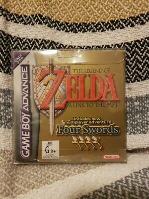 AU140 • Buy The Legend Of Zelda: A Link To The Past Four Swords GameBoy Advance Complete