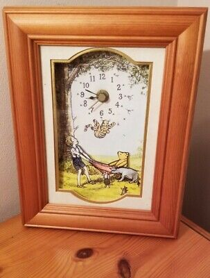£10 • Buy Winnie The Pooh Wall Clock By Time Gallery, Disney Catch Me If You Can 23cm High
