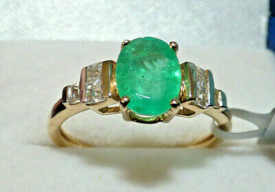 £370 • Buy Colombian Emerald Ring - Superb Piece