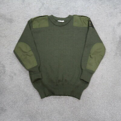 $37.49 • Buy Vintage Green Military Wool Pullover Sweater Size XL