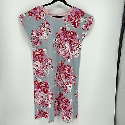 £10.85 • Buy Gownies Maternity Labor And Delivery Floral Hospital Gown Size S/M Blue Pink