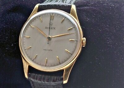 $ CDN2146.57 • Buy Rolex Precision 34mm (ref: 4139) Boxed With Papers, Recently Serviced