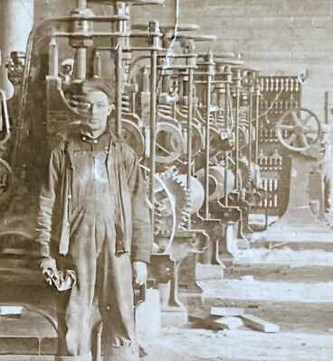 $49.99 • Buy 1913 Mechanical Room Lumber Paper Mill, Cornell, Wisconsin RPPC, Chippewa WI