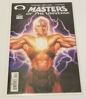 $19.49 • Buy MASTERS OF THE UNIVERSE #1B Dolph Foil Variant - NM - Free Shipping!