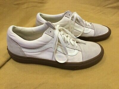 £20.97 • Buy Rare/Hard To Find VANS White Old Skool Suede/Canvass Gum Sole Sneakers Mens 10.5