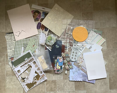£3.20 • Buy Job Lot Bundle Card Making/Craft Room Clear Out See Photos