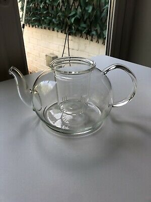 AU5.98 • Buy John Lewis Clear Glass Teapot With No Lid
