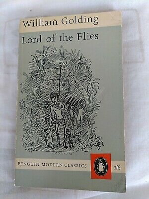 £5 • Buy Lord Of The Flies By William Golding 1961 Penguin Modern Classics