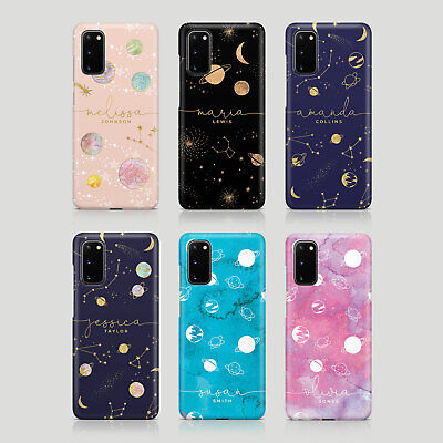$ CDN3.44 • Buy Tirita Personalised Case For Samsung S20 S10 S9 S7 Moon Planets Space Stars