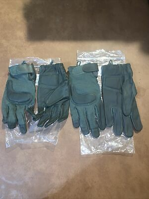 $20 • Buy New Us Military Combat Glove Cut/fire Resistant Med Sage Green 2 Pairs