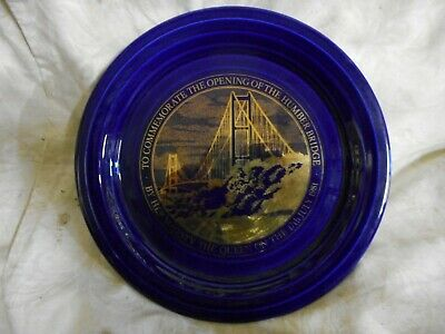 £8 • Buy A Hornsea Plate To Commemorate The Opening Of The Humber Bridge 1981