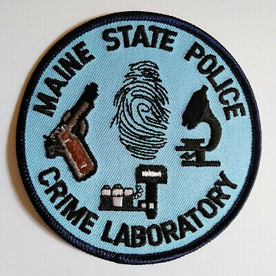 $4.95 • Buy Maine State Police Crime Laboratory Patch // FREE US SHIPPING!