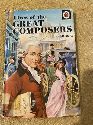£0.10 • Buy Vintage Ladybird Book Lives Of The Great Composers Book 2 Series 662 History Art