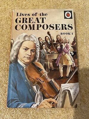£0.10 • Buy Vintage Ladybird Book Lives Of The Great Composers Book 1 Series 662 History Art