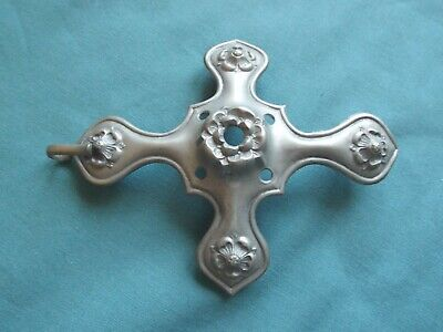 £15 • Buy Ww1  Spare White Metal Top Mount For British  Home Service Blue Cloth Helmet