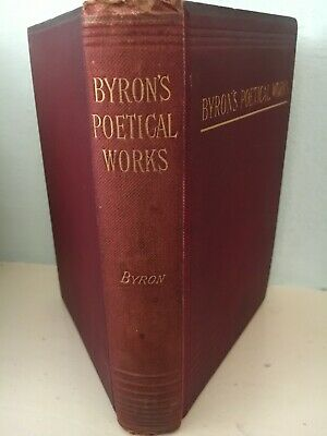 £19.87 • Buy Poetical Works Of Lord Byron Published By Lewis's 1877+