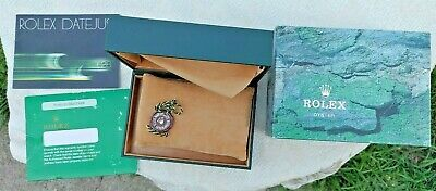 $ CDN23.31 • Buy VINTAGE ORIGINAL ROLEX OYSTER BOX ONLY With Shipping Box & Suede Polishing Cloth