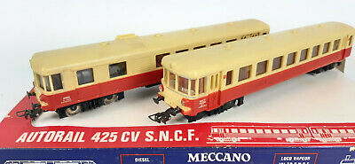 AU22.50 • Buy Hornby Acho Meccano French Railcar #6370 Very Good Runner+cond Boxed Ho(vw)