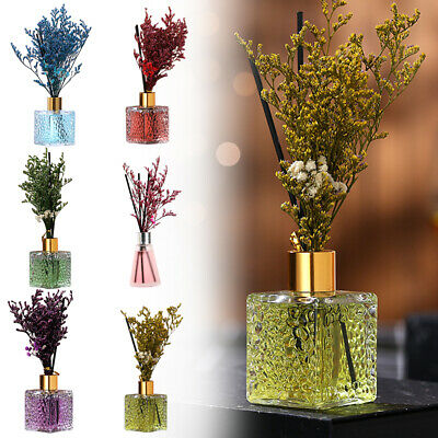 AU11.99 • Buy Faux Flower Essential Oil Rattan Sticks Home Decor Refill Reed Aroma Diffuser