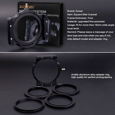 £13.99 • Buy For Cokin Z  Zomei Filter Ring Adapter+Multifunctional Holders 77-77mm