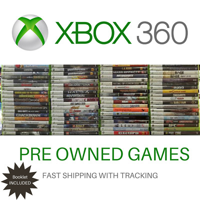 AU9 • Buy Xbox 360 Games Choose Your Title! With Booklet Good Condition Fast Tracking Post