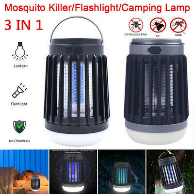 £5.99 • Buy Solar Insect Zapper Electric Light Fly Bug Trap Pest Lamp Mosquito Killer