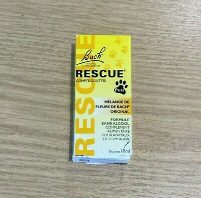 £10.40 • Buy Bach Rescue Remedy Pets Supplement Drops, 10ml, New Unopened