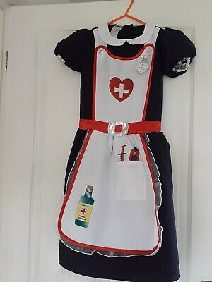 £4 • Buy Girls DRESSING UP NURSES OUTFIT Age 7/8    Worn Once