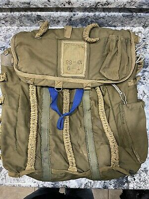$45 • Buy Romanian Military Surplus Paratroopers Kit Bag, UsedVintage Sold Out!!!!