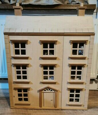 £119 • Buy  🌺Classic Four Storey Wooden Dolls House With All Furniture  🌺