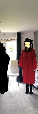 £5 • Buy Adult Graduation Gown Red