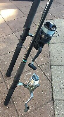 AU150 • Buy 2 X Shimano Fishing Rods And Reels & Tackle Gear