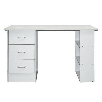 AU110.66 • Buy Office Computer Desk Home Student Study Table Workstation With Drawer Cabinet