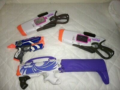 AU5 • Buy Toy NERF Guns X4 All In Good Condition-Happy To Combine Postage !!!!
