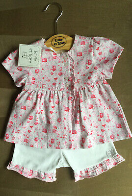 £18.99 • Buy Emile Et Rose Bbaby Girl Top And Shorts Set Age 12 Months