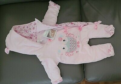 £10 • Buy Pitter Patter 0-3 Months Baby Girl All In One Hooded Coat. Brand New With Tags