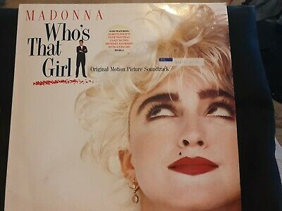 £7.95 • Buy Madonna Who's That Girl Original Motion Picture Soundtrack 1987 Cover Has Marks