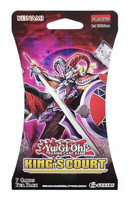 AU5.95 • Buy Yugioh | King's Court Blister Booster Pack - Factory Sealed
