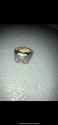 £15 • Buy Mens Size 9 Ring Bling Hip Hop Jewellery Iced Out