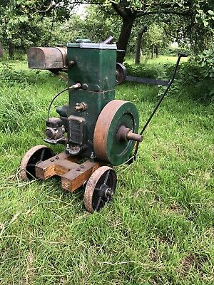 £450 • Buy Lister D Stationary Engine Reverse Rotation Nice Engine On Trolley