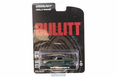 AU10.86 • Buy CHASE CAR - 1968 Ford Mustang GT Fastback, Steve McQueen 1/64 Scale Diecast  Car