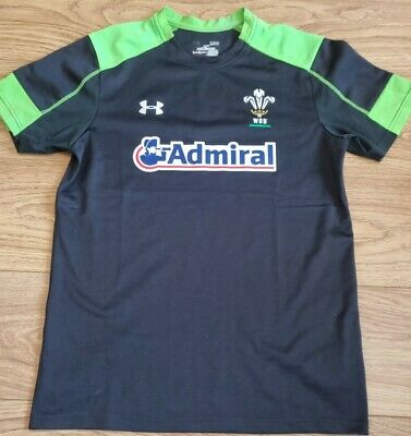 £9.99 • Buy Wales WRU Rugby Union 2014 Under Armour Training Top Shirt - Size Small 20  P2P
