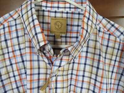 $15 • Buy NWT GUNNISON CREEK OUTFITTERS Men XXL Plaid Business Casual Short Sleeve