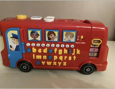 £12 • Buy Vtech Baby Kids Boys Girls Playtime Red Toy Bus With Phonics Educational