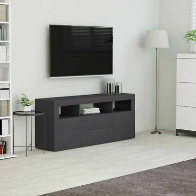 AU94.95 • Buy TV Cabinet With Drawers Storage Organizer Home Decor Entertainment Unit Stand