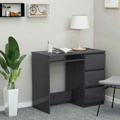 AU114.95 • Buy Home Office Desk Computer Laptop Workstation Study Writing Table With Drawers