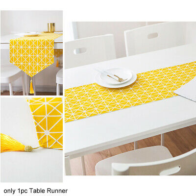 AU17.04 • Buy Daily Home Decor Reusable Table Runner Wedding Nordic Style Soft Dining Tabletop