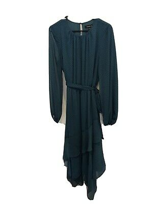 AU60 • Buy Forever New, Size 12, Teal, Maxi Dress