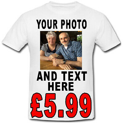 £15.99 • Buy Custom Personalised T Shirt Stag Do Hen Party Your Text Photo Funny Birthday