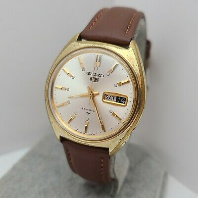 $ CDN195.12 • Buy Vintage SEIKO 5126-8010 Men's Automatic Watch 23Jewels Day/date 1968